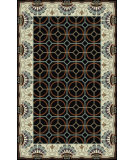 RugStudio presents Surya Bordeaux BRD-6020 Black Hand-Tufted, Good Quality Area Rug