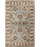 RugStudio presents Surya Brilliance BRL-2002 Silvered Gray Hand-Tufted, Best Quality Area Rug