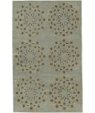 RugStudio presents Rugstudio Sample Sale 8368R Seafoam Green Hand-Tufted, Good Quality Area Rug