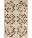 RugStudio presents Rugstudio Sample Sale 8370R Rust / Beige Hand-Tufted, Good Quality Area Rug