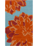 RugStudio presents Surya Budding BUD-2000 Orange Hand-Tufted, Best Quality Area Rug