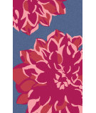 RugStudio presents Surya Budding BUD-2001 Pink / Red / Blue Area Rug