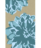 RugStudio presents Surya Budding BUD-2003 Teal Hand-Tufted, Best Quality Area Rug