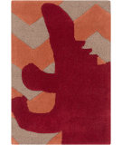 RugStudio presents Surya Budding BUD-2007 Orange / Red Hand-Tufted, Best Quality Area Rug
