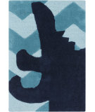RugStudio presents Surya Budding BUD-2008 Blue Hand-Tufted, Best Quality Area Rug