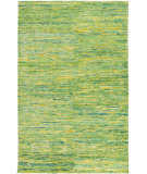RugStudio presents Surya Bazaar Bzr-8007 Lime Hand-Knotted, Good Quality Area Rug