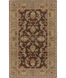 RugStudio presents Rugstudio Sample Sale 28016R Chocolate Hand-Tufted, Best Quality Area Rug