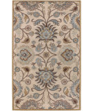 RugStudio presents Rugstudio Sample Sale 28018R Beige Hand-Tufted, Best Quality Area Rug