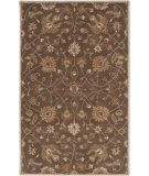 RugStudio presents Rugstudio Sample Sale 73088R Dark Brown Hand-Tufted, Best Quality Area Rug