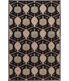 RugStudio presents Rugstudio Sample Sale 73091R Jet Black Hand-Tufted, Best Quality Area Rug