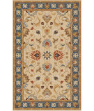 RugStudio presents Rugstudio Sample Sale 88028R Olive Gray Hand-Tufted, Best Quality Area Rug