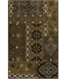 RugStudio presents Surya Caesar CAE-1139 Neutral / Red / Green Area Rug