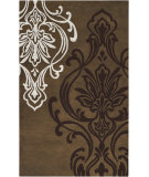 RugStudio presents Surya Modern Classics CAN-2009 Espresso Hand-Tufted, Good Quality Area Rug