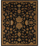 RugStudio presents Surya Carrington CAR-1000 Jet Black Hand-Tufted, Good Quality Area Rug