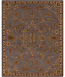 RugStudio presents Surya Carrington CAR-1007 Elephant Gray Hand-Tufted, Good Quality Area Rug
