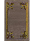 RugStudio presents Surya Calaveras CAV-4002 Taupe / Yellow Hand-Tufted, Good Quality Area Rug
