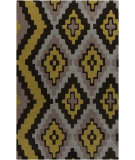 RugStudio presents Surya Calaveras CAV-4003 Gold / Gray Hand-Tufted, Good Quality Area Rug