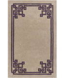 RugStudio presents Surya Calaveras CAV-4004 Neutral / Violet (purple) Hand-Tufted, Good Quality Area Rug