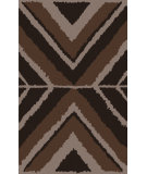 RugStudio presents Surya Calaveras CAV-4006 Chocolate Hand-Tufted, Good Quality Area Rug