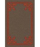 RugStudio presents Surya Calaveras CAV-4009 Taupe Hand-Tufted, Good Quality Area Rug