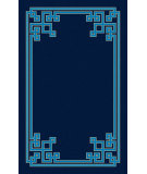 RugStudio presents Surya Calaveras CAV-4011 Cobalt Hand-Tufted, Good Quality Area Rug