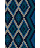 RugStudio presents Surya Calaveras CAV-4012 Cobalt Hand-Tufted, Good Quality Area Rug