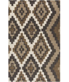 RugStudio presents Surya Calaveras CAV-4015 Chocolate Hand-Tufted, Good Quality Area Rug