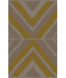 RugStudio presents Surya Calaveras CAV-4016 Gold Hand-Tufted, Good Quality Area Rug