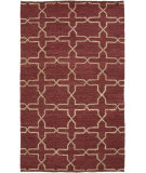 RugStudio presents Surya Caynon Cay-7001 Burgundy Hand-Knotted, Good Quality Area Rug