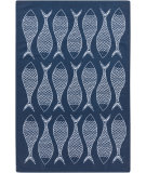 RugStudio presents Surya Cape Cod Ccd-1013 Navy Machine Woven, Best Quality Area Rug