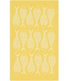 RugStudio presents Surya Cape Cod Ccd-1015 Lemon Machine Woven, Best Quality Area Rug