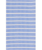 RugStudio presents Surya Cape Cod Ccd-1049 Sky Blue Machine Woven, Best Quality Area Rug
