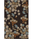 RugStudio presents Surya Cannes CNS-5405 Dark Brown Hand-Hooked Area Rug