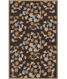 RugStudio presents Surya Cannes CNS-5406 Dark Brown Hand-Hooked Area Rug