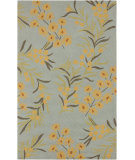 RugStudio presents Surya Cannes CNS-5411 Pale Blue Hand-Hooked Area Rug