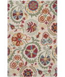 RugStudio presents Rugstudio Sample Sale 56487R Cherry Hand-Hooked Area Rug