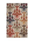 RugStudio presents Rugstudio Sample Sale 65538R Silver Cloud Hand-Hooked Area Rug