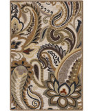 RugStudio presents Surya Centennial CNT-1081 Feather Gray Hand-Hooked Area Rug