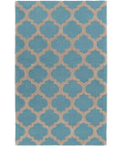 RugStudio presents Surya Centennial Cnt-1100 Teal Hand-Hooked Area Rug