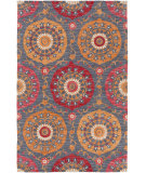 RugStudio presents Surya Centennial Cnt-1101 Cherry Hand-Hooked Area Rug