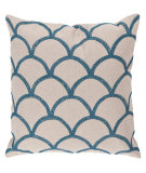 RugStudio presents Surya Pillows COM-007 Ivory/Teal