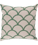 RugStudio presents Surya Pillows COM-008 Emerald/Ivory