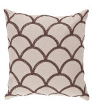RugStudio presents Surya Pillows COM-011 Ivory/Mocha
