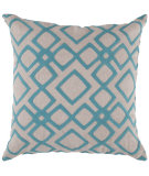 RugStudio presents Surya Pillows COM-013 Aqua/Ivory