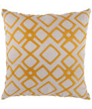 RugStudio presents Surya Pillows COM-016 Tangerine/Ivory