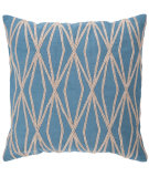 RugStudio presents Surya Pillows COM-022 Aqua/Beige