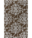 RugStudio presents Surya Cosmopolitan Cos-8829 Chocolate Hand-Tufted, Better Quality Area Rug
