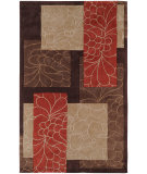 RugStudio presents Surya Cosmopolitan Cos-8889 Chocolate Hand-Tufted, Better Quality Area Rug