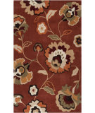 RugStudio presents Surya Cosmopolitan Cos-9105 Burnt Sienna Hand-Tufted, Best Quality Area Rug