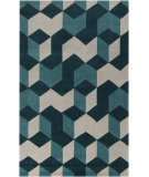 RugStudio presents Surya Cosmopolitan COS-9189 Teal Hand-Tufted, Best Quality Area Rug